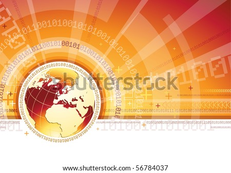 Global Communication - EPS 10 - stock vector