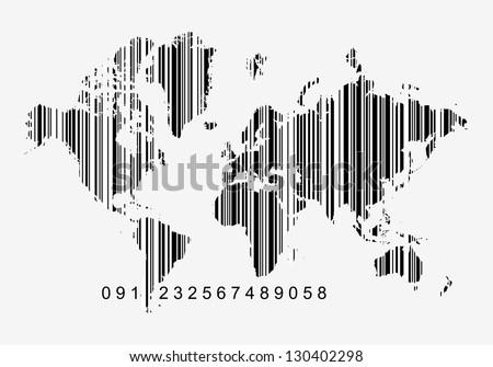 Global economy concept world map bar vector de stock130402298 global economy concept world map bar vector de stock130402298 shutterstock gumiabroncs Image collections