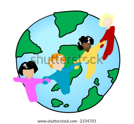 Global Kids - Vector