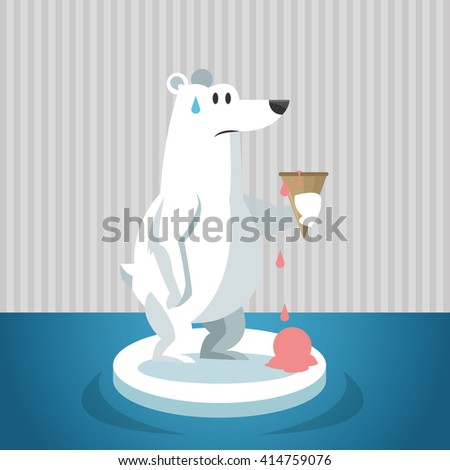 Global warming design. Environment icon.ecology concept - stock vector