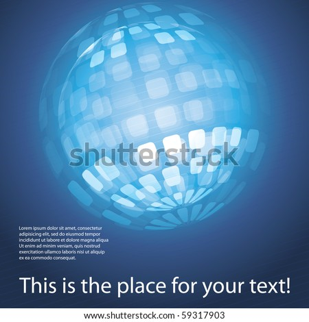 Globe Design Vector - stock vector