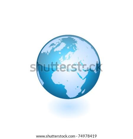 Globe. Vector - stock vector