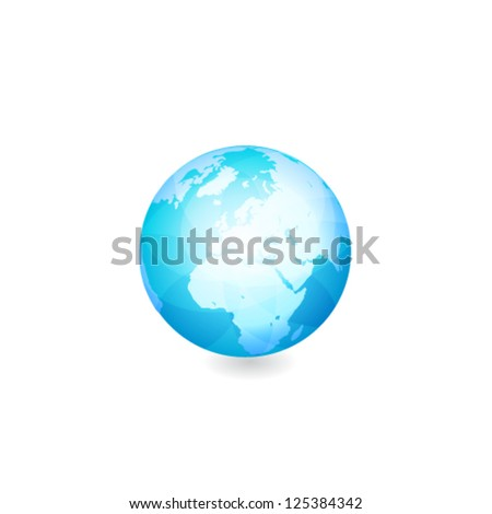 Globe. Vector Illustration