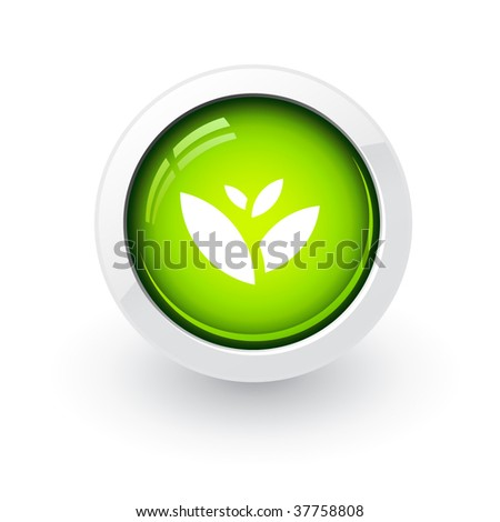 Glossy environmental button