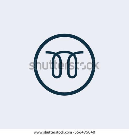 Glow Plug Icon Stock Vector 556495048 Shutterstock