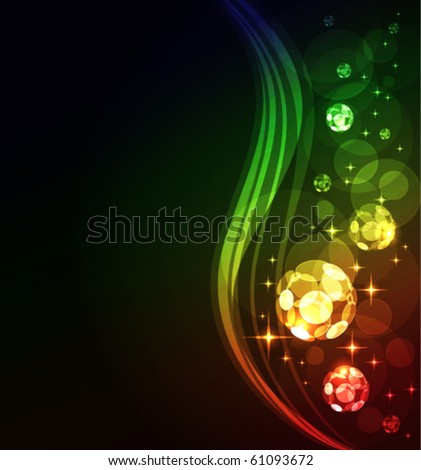 glowing abstract background, eps10