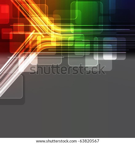 glowing abstract background,eps10 format - stock vector