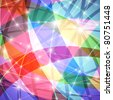 Glowing colorful abstract background, vector eps10 format - stock photo