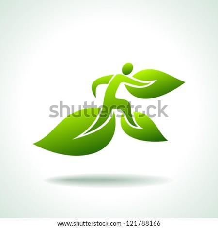 go for green icon - stock vector