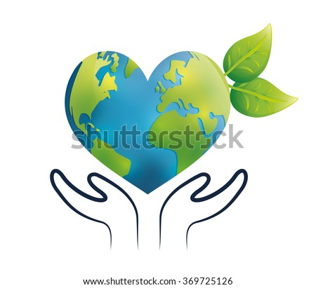 Go green and ecology theme