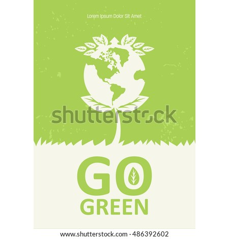 Go Green poster campaign.