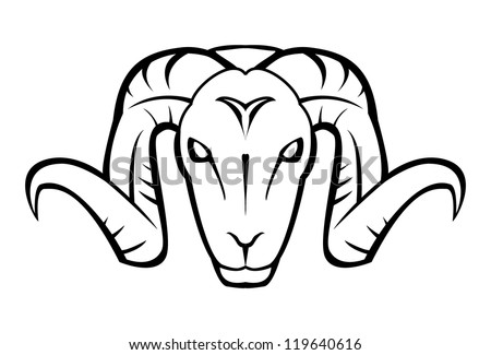 Antelope Face Drawing Goat Face