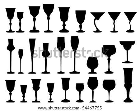Goblet - stock vector