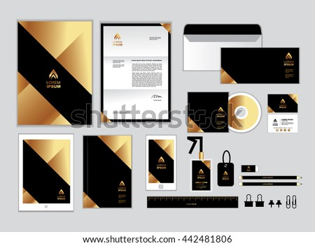 Stationery Design Stock Images Royalty Free Images