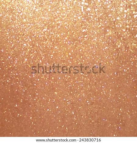 Gold Glitter Vector Gold Glitter Metal Texture