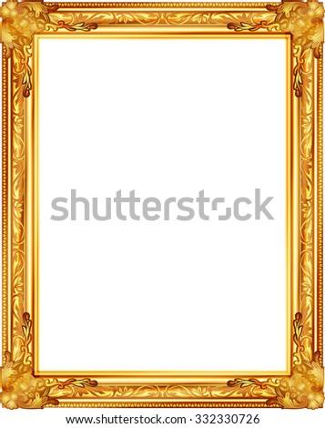 Golden Frame Stock Photo 89261596 Shutterstock