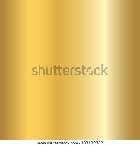 Gold texture seamless pattern. Light realistic, shiny, metallic empty golden gradient template. Abstract metal decoration. Design for wallpaper, background, wrapping, fabric etc. Vector Illustration. - stock vector