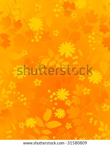 gold yellow natural background - stock vector