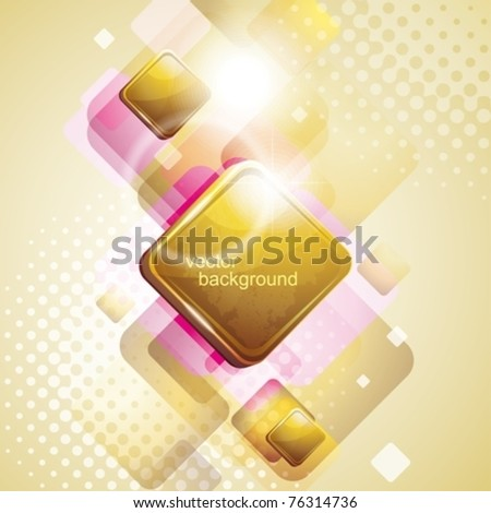golden abstract background. eps10 - stock vector