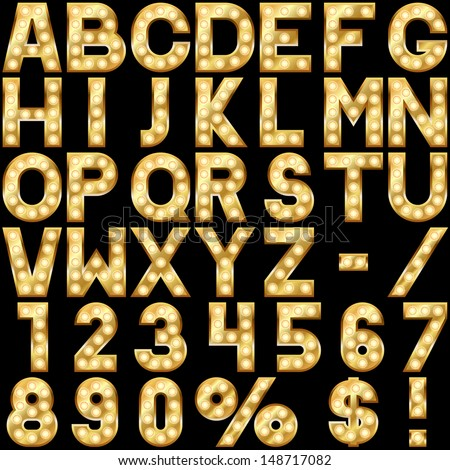 Gold Letters Stock Images Royalty Free Images Amp Vectors