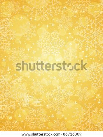 stock-vector-golden-christmas-background