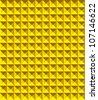 Golden pyramid pattern vector illustration - stock vector