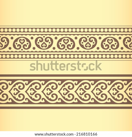 Golden Ratio Ornament v. 18 (Vector) - stock vector