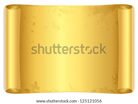 Scroll Old Parchment Paper Design Old Stock Illustration - Parchment paper map of us