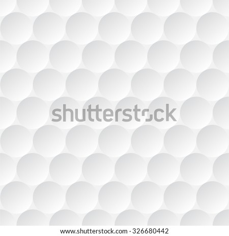 realistic rendition golf ball texture closeup stock vector