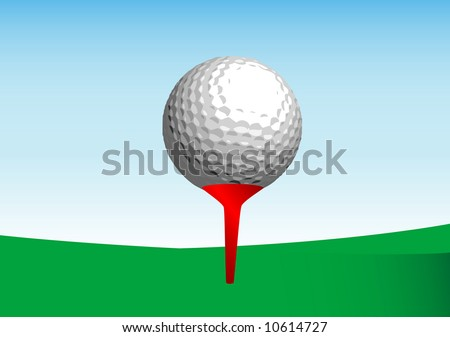 golf ball vector stock vector 10614727 shutterstock