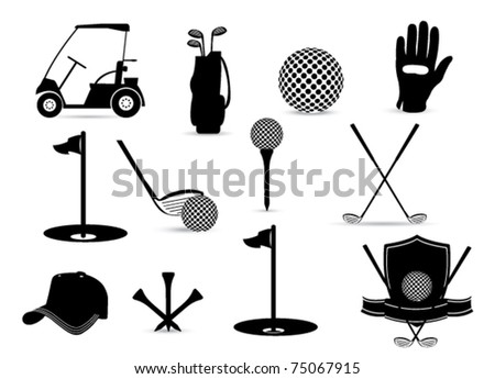 Golf Symbol Stock Images Royalty Free Images Amp Vectors