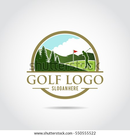 golf logo stock images royaltyfree images amp vectors