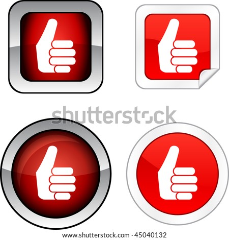 Good   web buttons. Vector illustration.