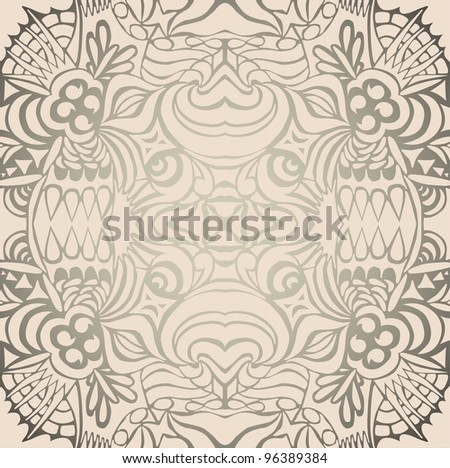 Gordeous seamless pattern