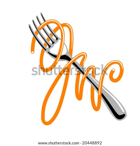 Pasta logo Stock Photos, Illustrations, and Vector Art