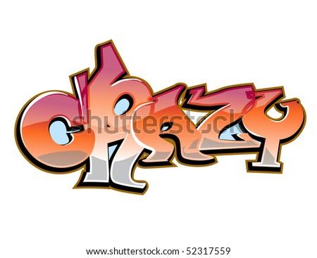 crazy graffiti vector - photo #13