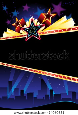 Grand opening - stock vector