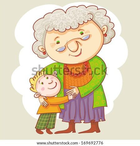 Поздравление от внуков и внучек бабушке на юбилей 644