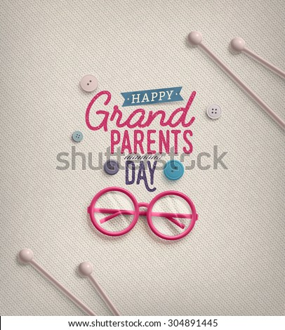 Grandparents day greeting card eps 10 stock photo photo vector grandparents day greeting card eps 10 m4hsunfo