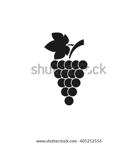 Grapes icon vector illustration eps10. - stock vector