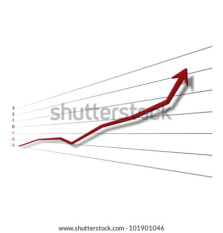 Graph - stock vector