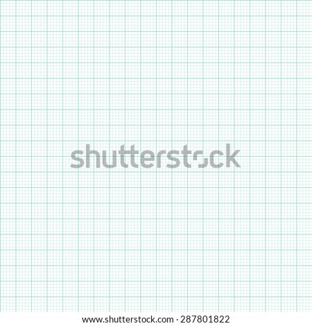 Graph and plotting paper. Green Graph and plotting paper. Seamless. - stock vector
