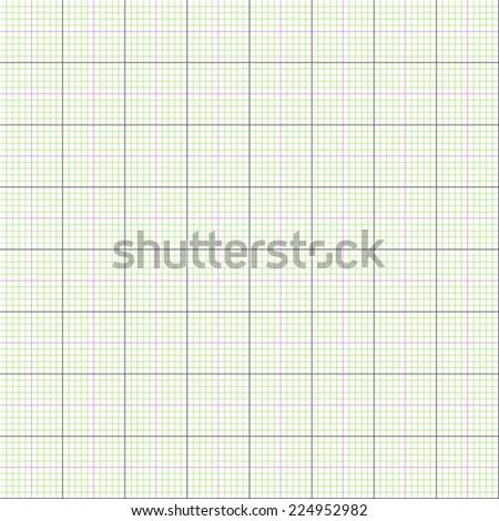 Graph paper grid background, 2d illustration,  vector, eps 8 - stock vector