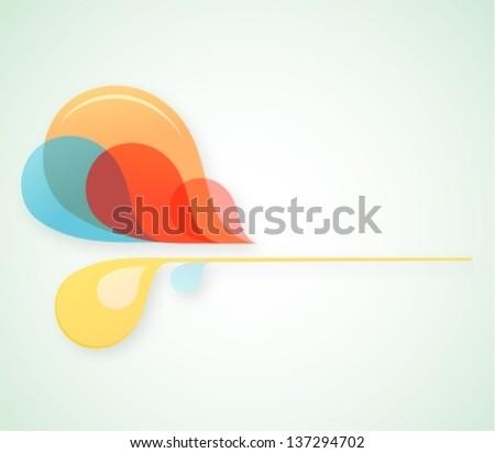 Graphic design element. EPS-10 - stock vector