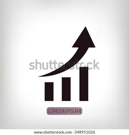 graphic icon - stock vector