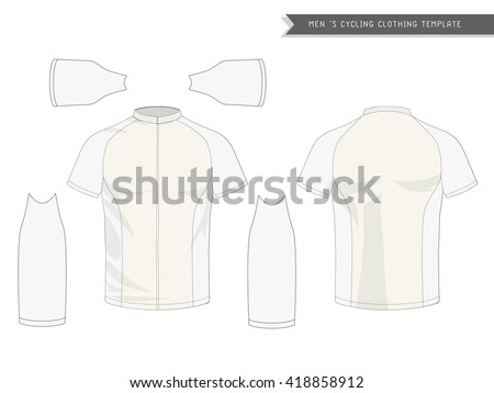 Cycling jersey stock images royalty free images vectors graphic of mens cycling clothing cycling jersey template pronofoot35fo Image collections