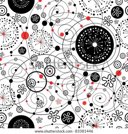 graphic texture - stock vector