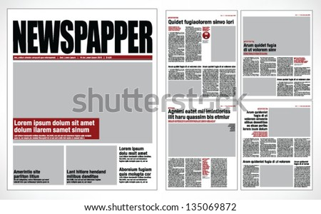 newspaper stock images royalty free images vectors shutterstock. Black Bedroom Furniture Sets. Home Design Ideas