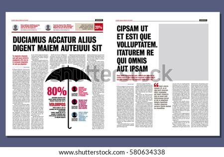 modern newspaper template