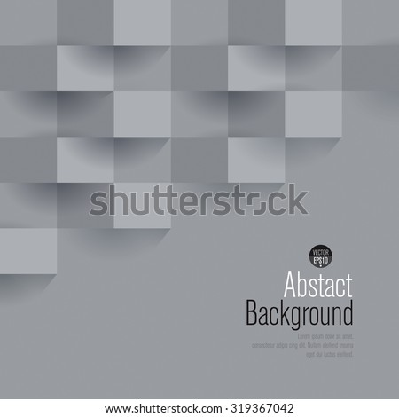Gray abstract background vector. Can be used in cover design, book design, website background, CD cover, advertising.
